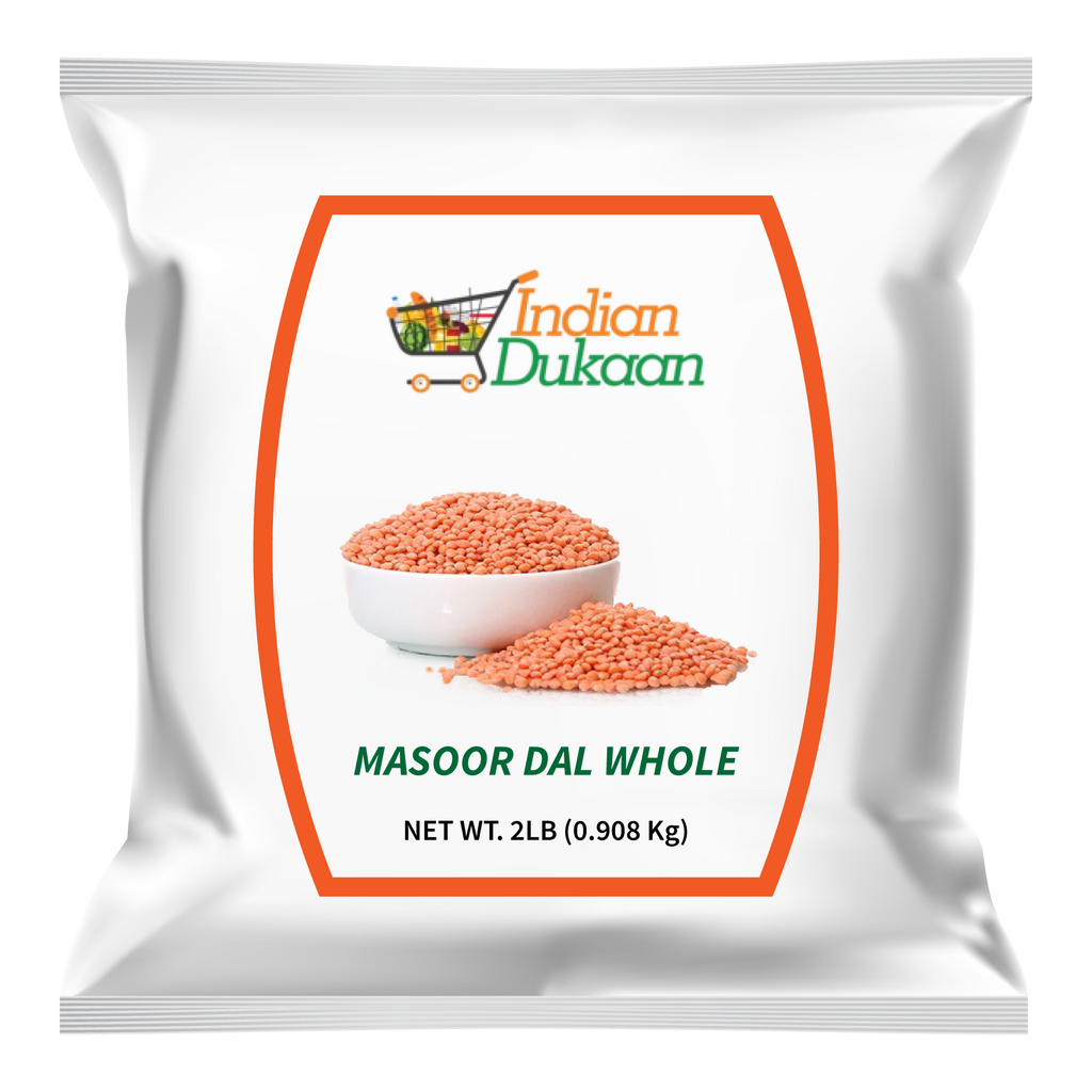 IndianDukaan Masoor Daal Whole 2lb