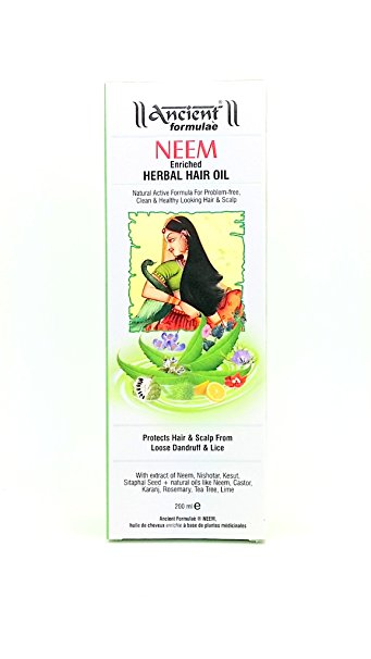 Hesh Neem Herbal Hair Oil 200 ml