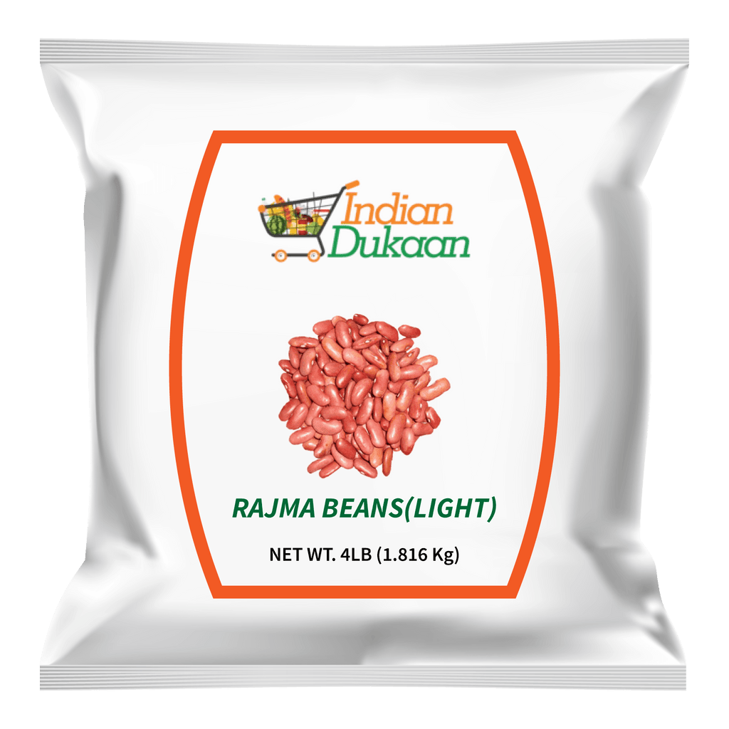 IndianDukaan Rajma Beans Light 4 LB