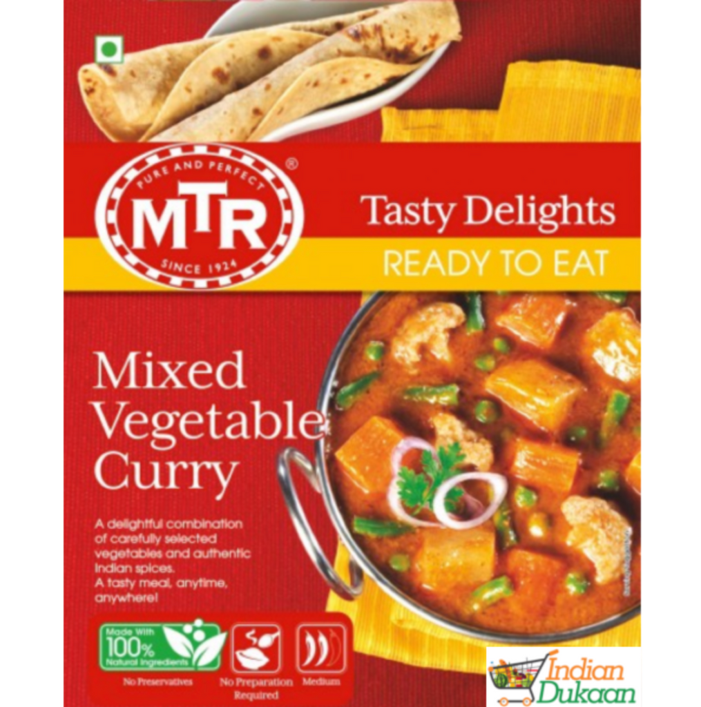MTR Mix Veg Curry (Ready-To-Eat) 300g