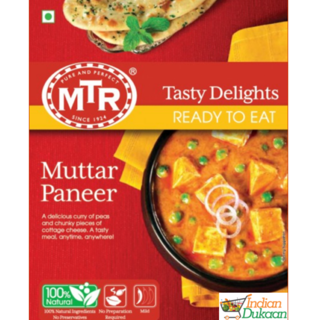 MTR Mutter Paneer (Ready-To-Eat) 300g
