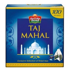 Brooke Bond Taj Mahal 100 Tea Bags 200 gm