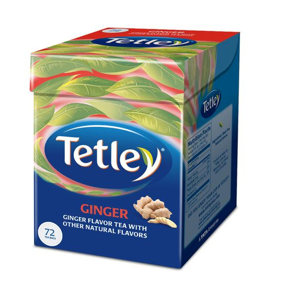 Tetley Ginger 72 Tea Bags 144 gm