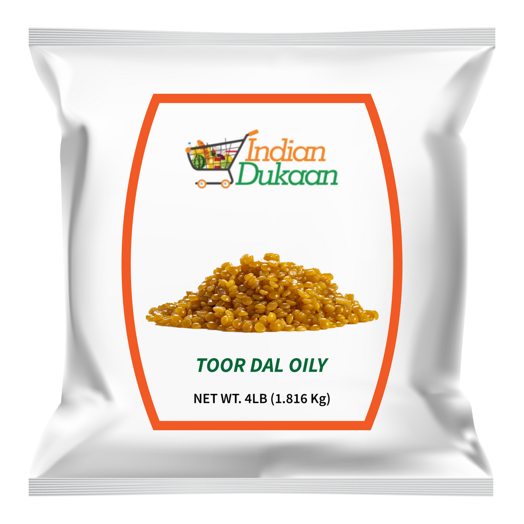 IndianDukaan Toor Dal Oily 4lb