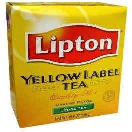Lipton Yellow Label Orange Pekoe Loose Tea 450 gm