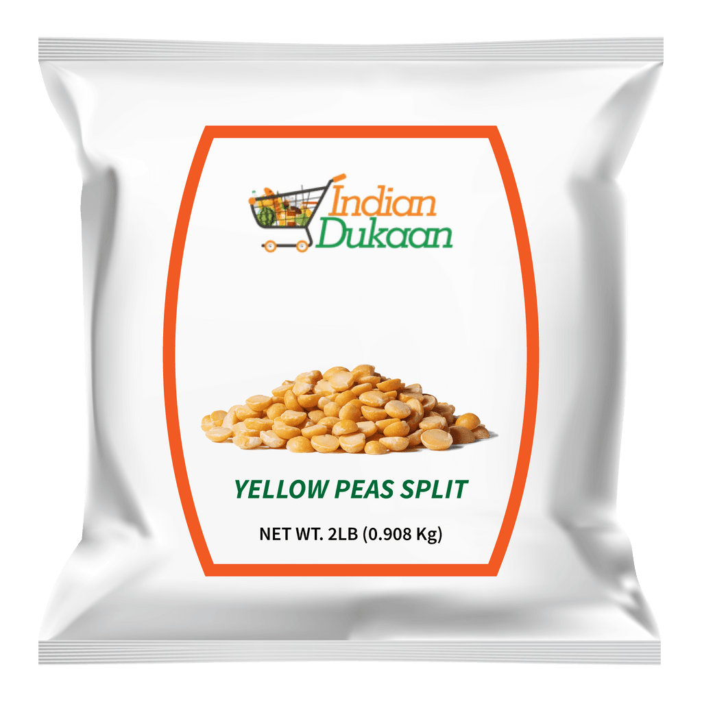 IndianDukaan Yellow Peas Split 2 LB