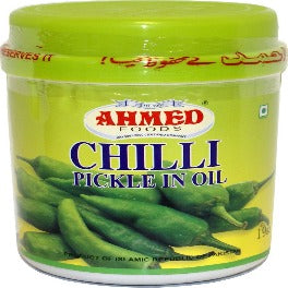 Ahmed Chilli Pickle In oil 1 Kg (35.27 OZ)-0
