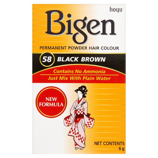 Bigen Hair Color Black Brown 6 gm