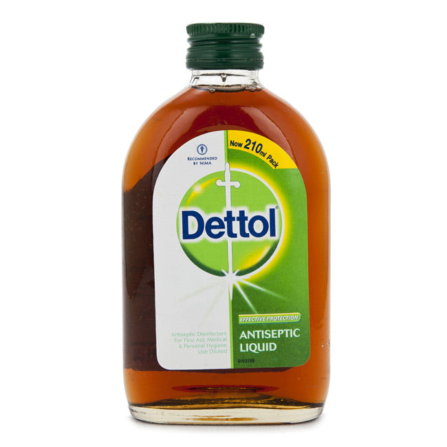 Dettol Antiseptic Liquid 210 ml