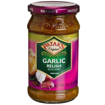 Patak's Garlic Relish - Pickle 283 gm