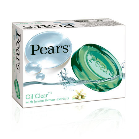 Pears Green Soap with lemon 80G-0