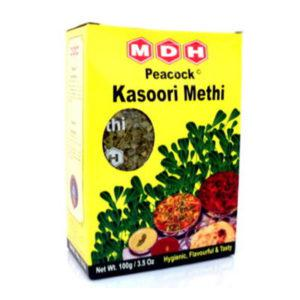 MDH Kasoori Methi Leaves (Fenugreek) 3.5Oz (100gm)