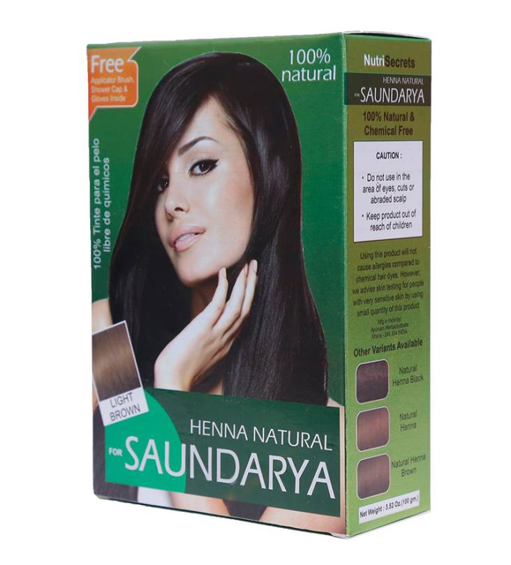 Natural Henna – Light Brown