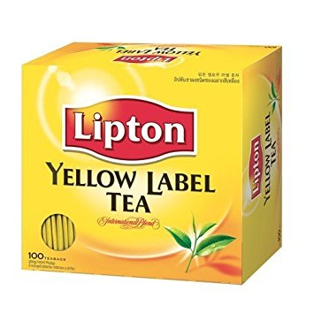 Lipton Yellow Label Tea Bags - 100 Tea Bags 200 G