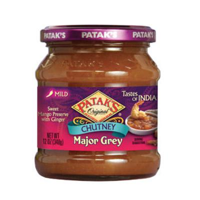 Patak's Major Grey Chutney 12oz (340g)