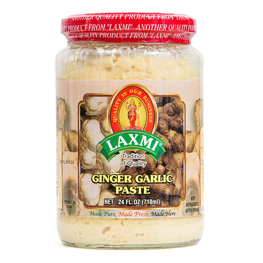Laxmi Ginger Garlic Paste 8Oz