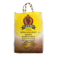 Laxmi Brown Basmati Rice 10lbs