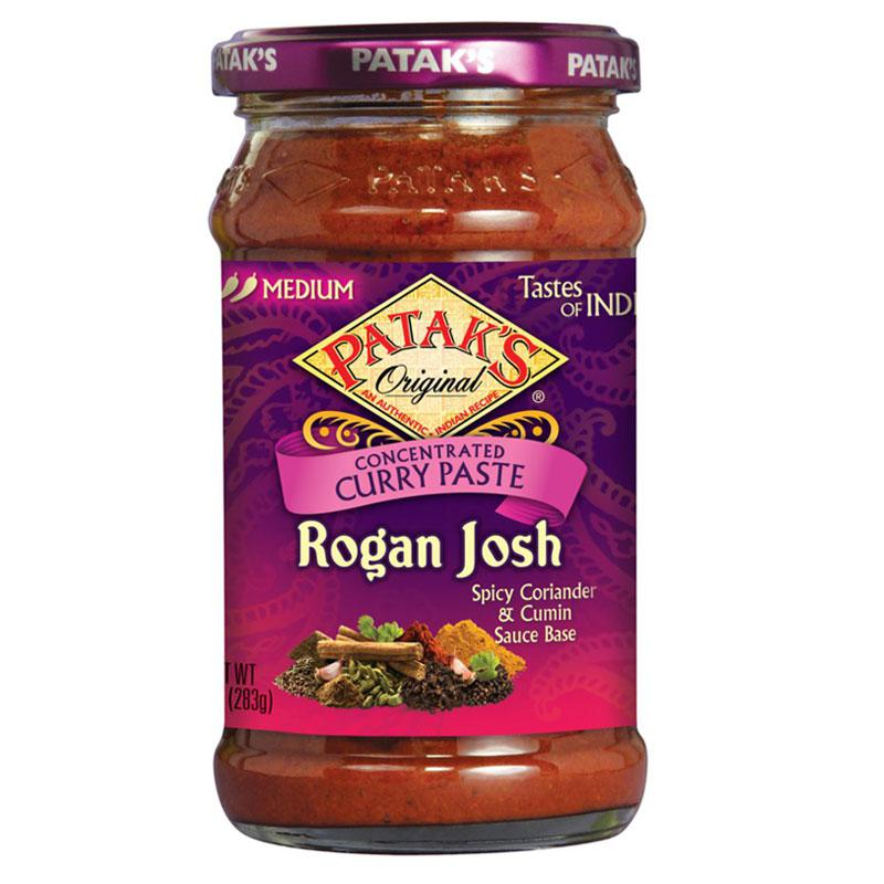 Patak's Rogan Josh Curry Paste 10oz (283G)