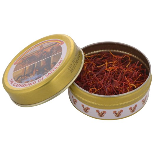 Saffron Zafran Pure Spanish Gathering Brand 1 gm