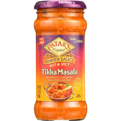 Patak's Hot and Spicy Tikka Masala Simmer Sauce 12oz