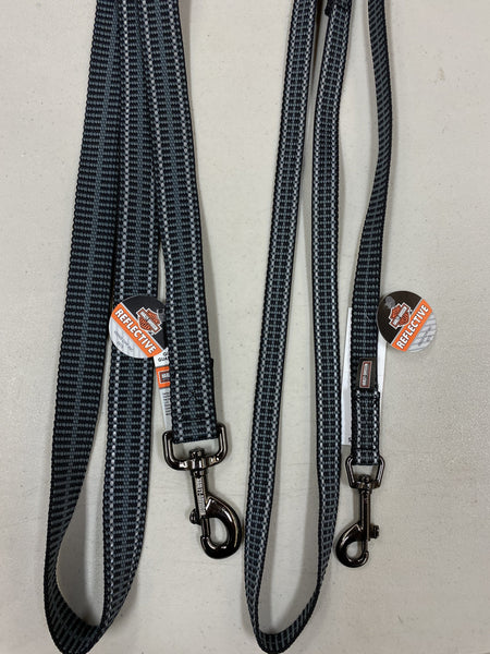 Reflective Grey Leash