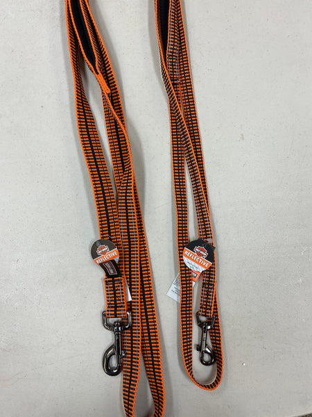 Reflective Orange Leash