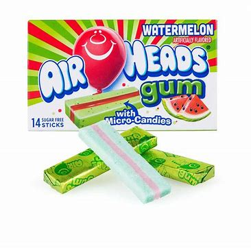 Air Head Gum- Watermelon