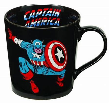 Captain America Mug 12oz