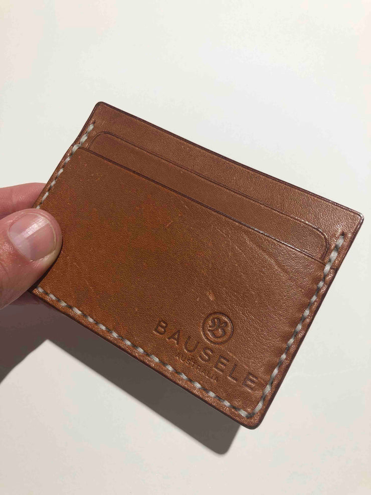 HANDMADE Leather slim classic cardholder