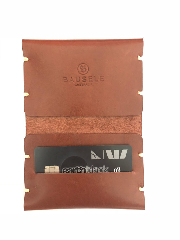 HANDMADE Leather Bifold Cardholder