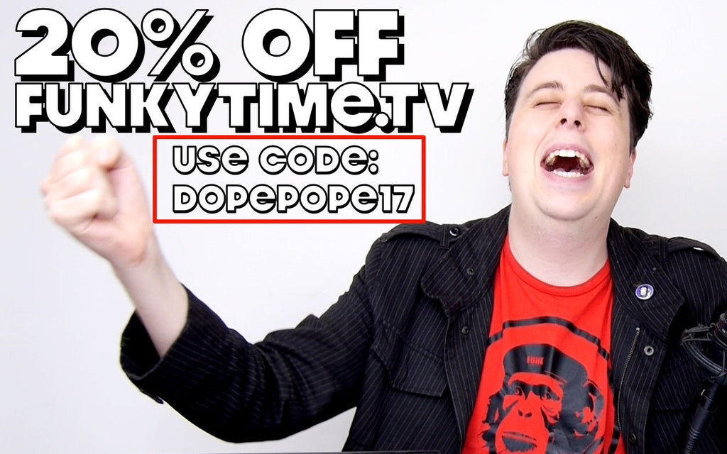 Save 20% off Everything for POPE WEEK!!