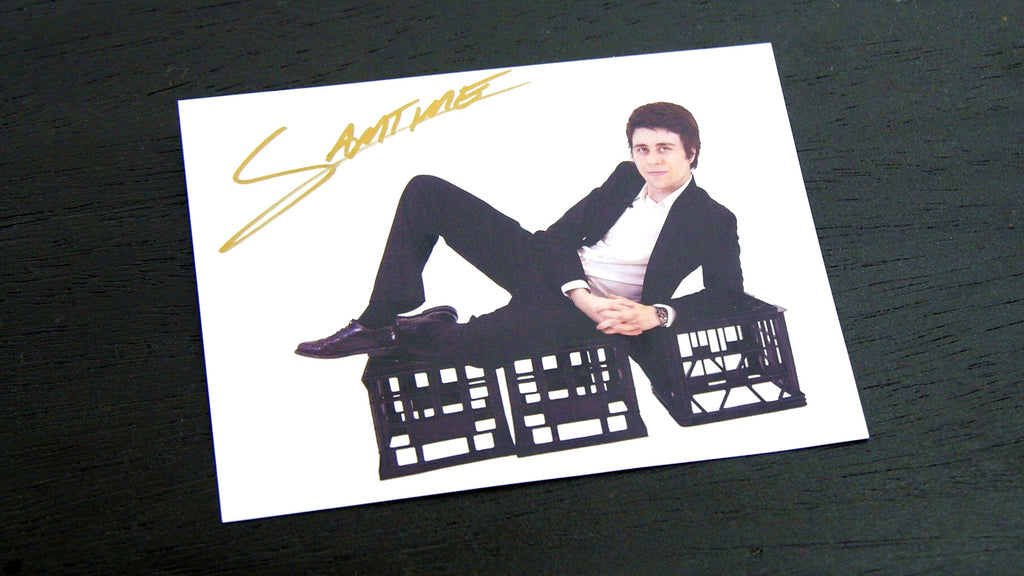 Farewell to the SAMTIME Sexy Signed Support Card :,(