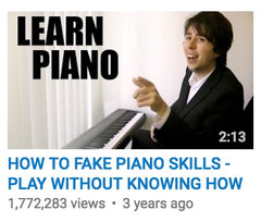 How To Fake Piano Skills