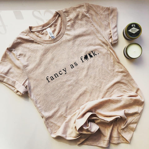 Unisex Fancy As T-shirt Peach