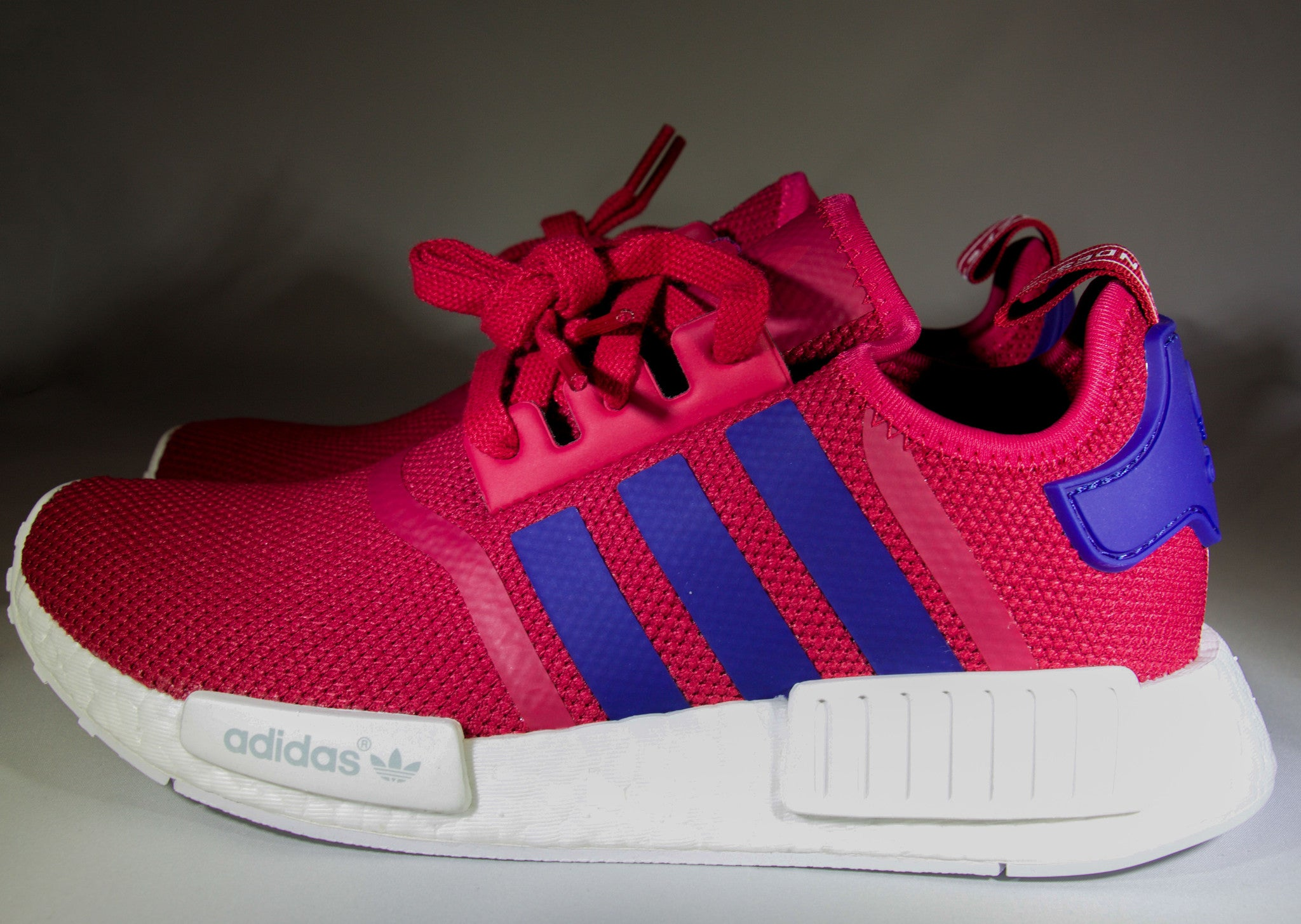 separation shoes a8e22 3ef77 Adidas NMD R1 GS Womens PinkPurple - 1s0s5oles
