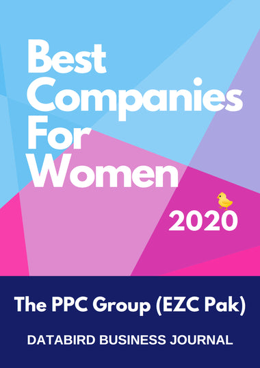 EZC Pak Named Best Company for Women 2020