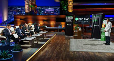 EZC Pak Creator Dr. Sarath Malepati Strikes Deal with Kevin O'Leary on ABC's Shark Tank!