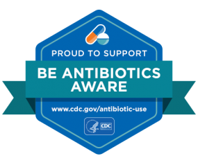 Proud To Support Be Antibiotics Aware
