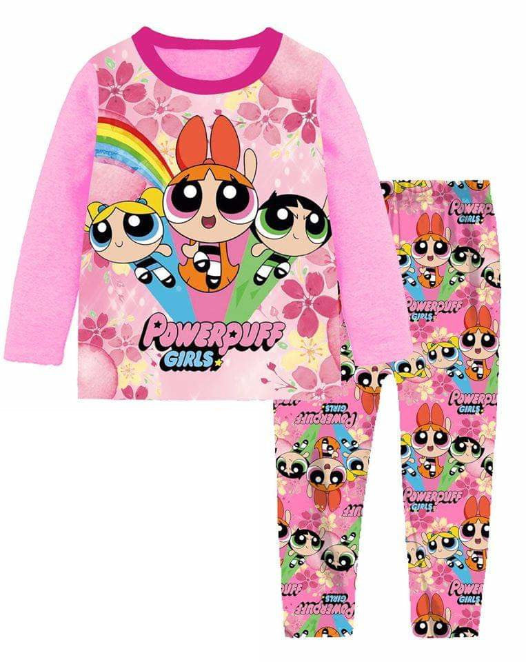 Pijamas Powerpuff Girls (A-1114)
