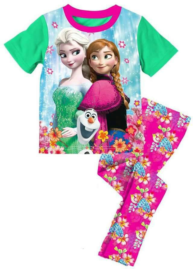 Pijamas Frozen (A-574)