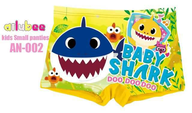 Kids Small Panties Baby Shark (AN-002)