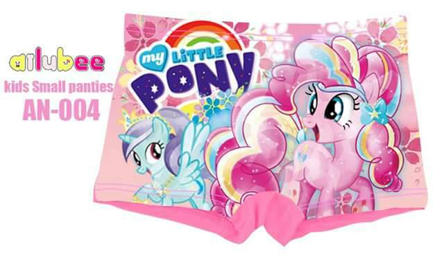 Kids Small Panties Little Pony (AN-004)