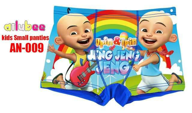 Kids Small Panties Upin & Ipin (AN-009)