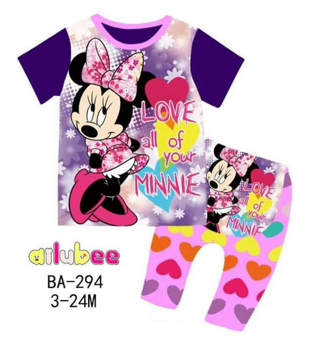 Pijamas Minnie Mouse (BA-294)