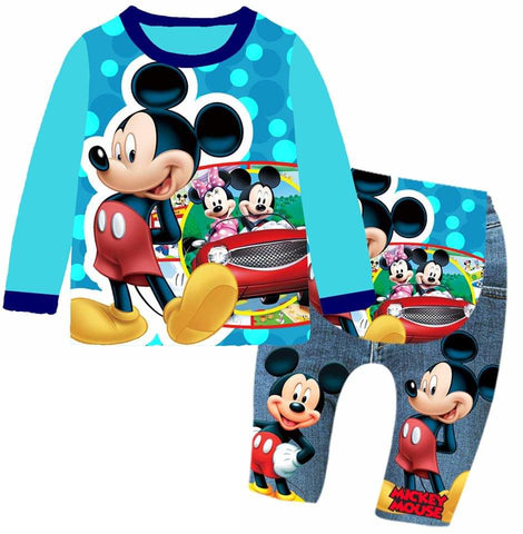 Pijamas Mickey Mouse (BA-656)