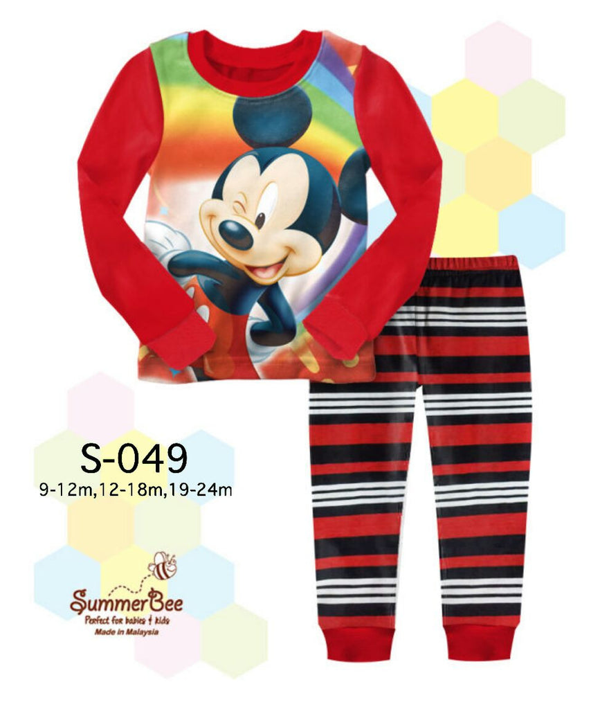 Pijamas Mickey Mouse (S-049)