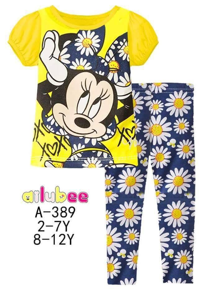 Pijamas Minnie Mouse (A-389)
