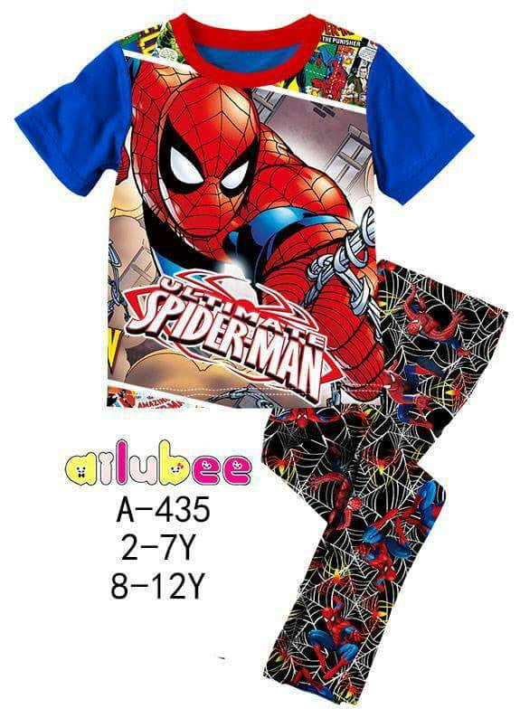 Pijamas The Ultimate Spiderman (A-435)