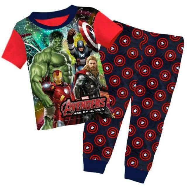 Pijamas Avengers Age of Ultron