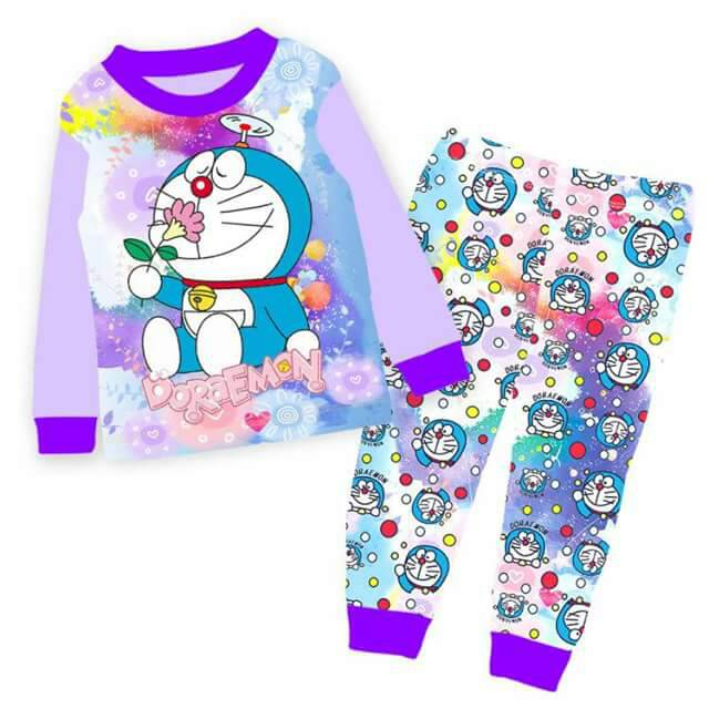 Pijamas Doraemon (Purple)